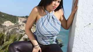Great arab brunette with big boobs Kar...photo 3