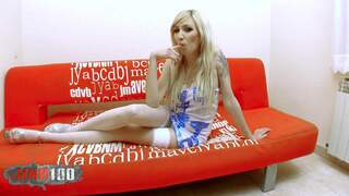 Horny Katy Bell doing a strip live o...photo 1