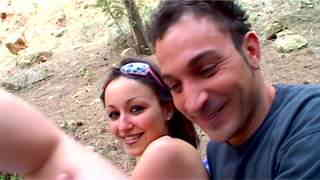 Dirty french teen fucking like insane in the forest  photo 01