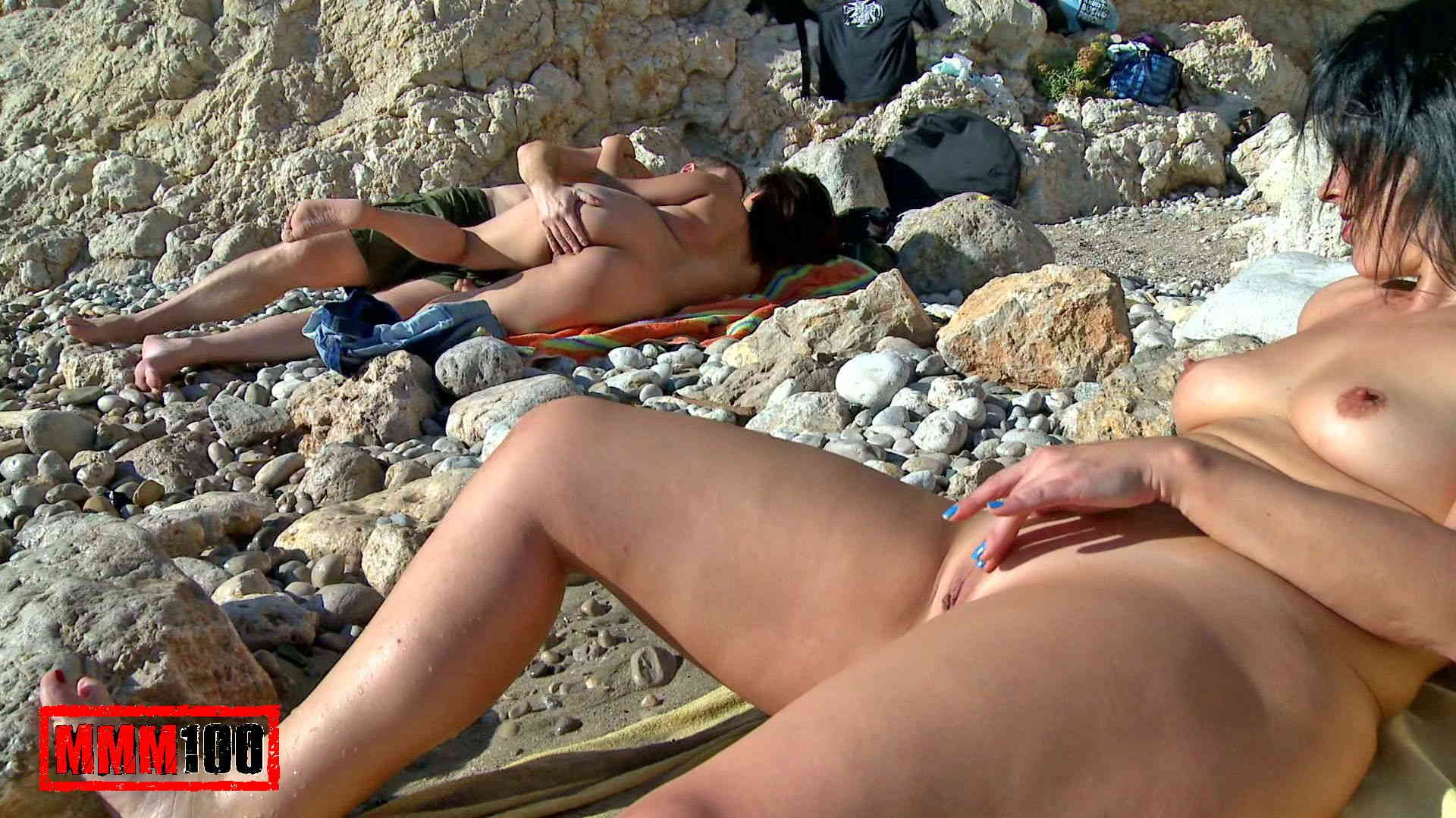 Naked on the beach tumblr