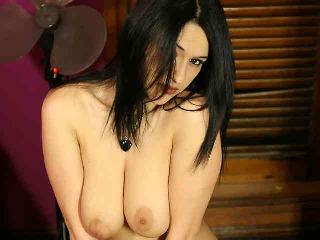 Lovely with big boobs Lisa Spice doing a strip with a black outfit   photo 14