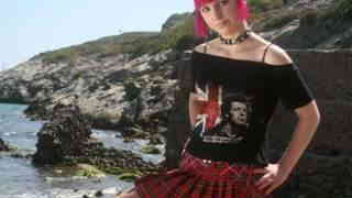 Great teen redhead Loli Punk doing a s...photo 1