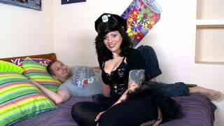 Video interview porno with Lulu Pretel...