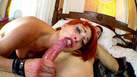Crazy redhead girl for savage sexe tim...photo 4