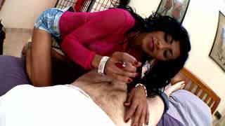 Hot brasilian milf slut giving great handjob  photo 09