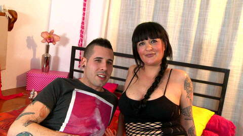 Tattooed MILF for Kevin's pleasure photo 1