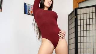 Pornstar brunette Mea Melone dancing a...photo 3