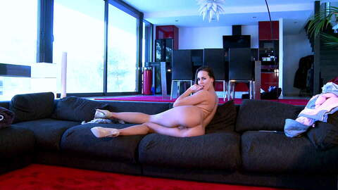 Horny Mea Melone doing a strip live on...photo 1