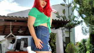 La chubby little redhead Mey Max remov...photo 1