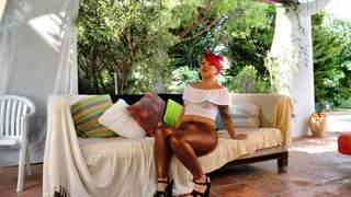 La voluptuous little redhead Mey Max d...photo 1