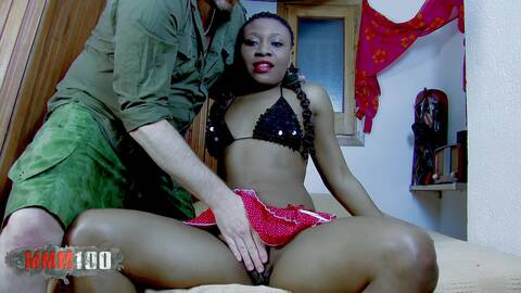 The soldier and the black whore photo 1
