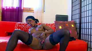 Cute little Naomi Lionness doing a hot striptease alone on her webcam   photo 13