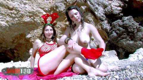 Santa Claus at the beach  photo 1