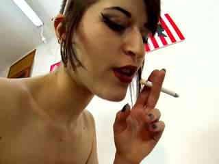 Nerea Falco  Handjob Blowjob Smoking Photo