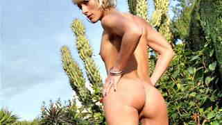Lovely blonde Nicky Wayne removing clothes   photo 13