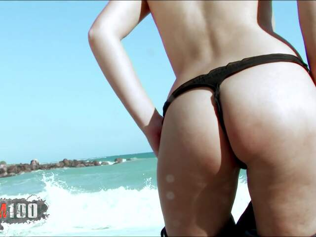Teen arab geting naked at the beach  photo 07