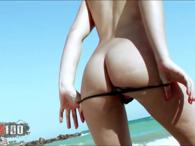 Teen arab geting naked at the beach  photo 10