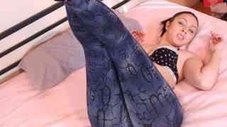 Lovely little Pamela Sanchez getting naked   photo 07
