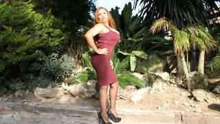 Horny mature with big tits Perla Berne...photo 2