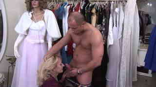 Old naughty chiks get fucked by a young muscled man  photo 03