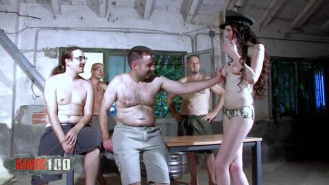 Gang-bang in the jailhouse! photo 3