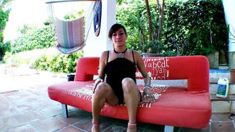 Horny mature arab brunette Samia Chris...photo 1