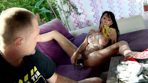 Dick or banana in the pussy ? photo 1