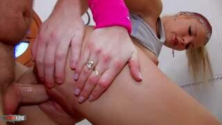 Shana Spirit Terry Bathroom Anal Larry likes running shorts