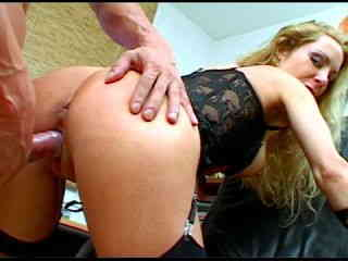 Sidjey Collins Blond MILF slut fucking in the office  HQ Full Size Photo