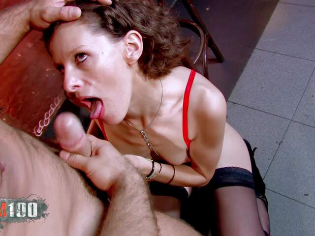 Nasty MILF gonna receive deeply a big cock in all her hole  photo 04
