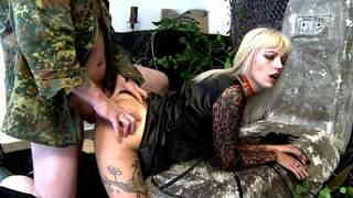 Sexy blonde vampire cock sucker and hard fucker  photo 05