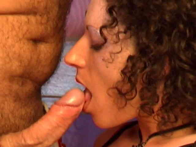 Brune amateur sucking and fuckin a french cock  photo 03