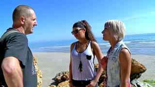 Porn video :   Stella Johanssen Nicky Wayne Terry Beach photo 01