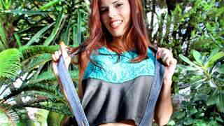 young redhead touching herself in the ...photo 3