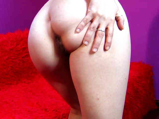 Horny young redhead Tania Teen removing clothes live on the webcam   photo 14