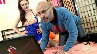 Sex on webcam  with the nerd  photo 01