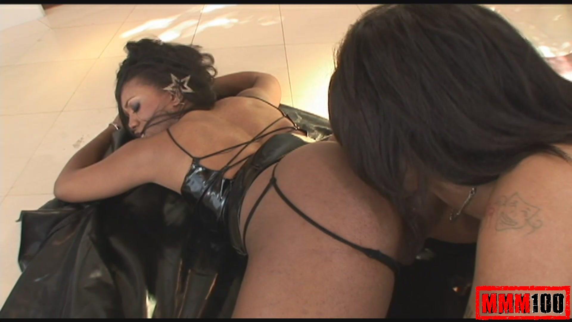 French Lesbian Anal Threesome