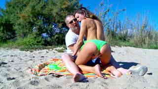 The Italian tourist gets ass fucked at the beach  photo 04