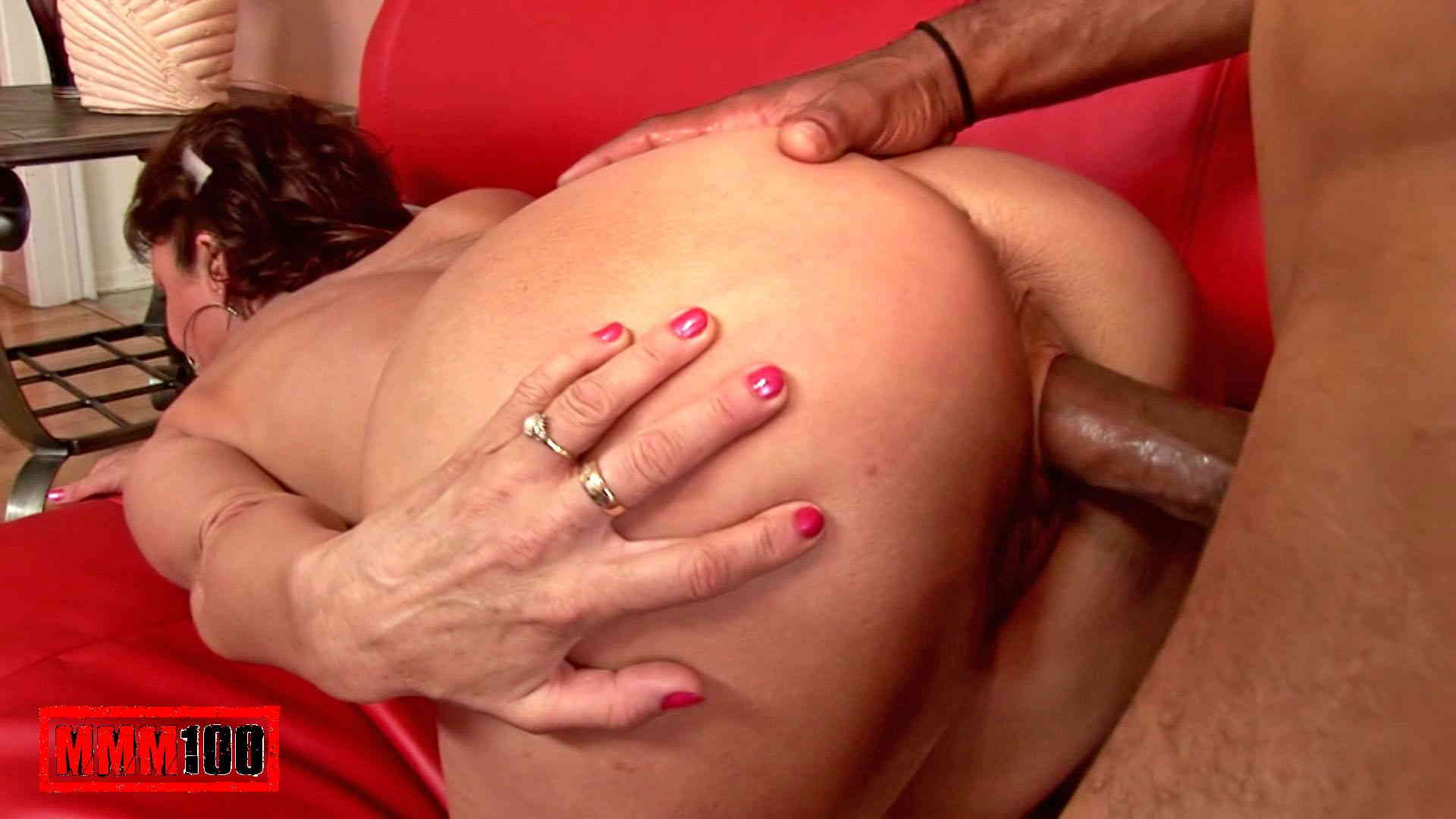 And Black cock creampie milf much