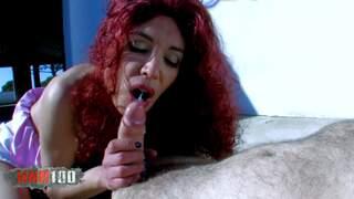 Milf slut gonna fuck with an exhibitio...photo 4