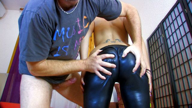 Vinyl, Shiny, skin tight clothes, shorts, bodysuit