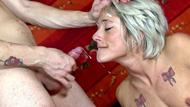 Facial, Avaleuse de sperme, ejaculation faciale